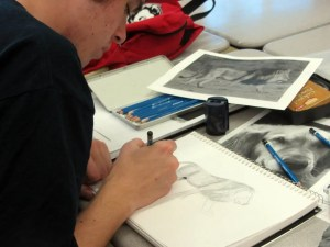 CJ Shelton Drawing Class 2