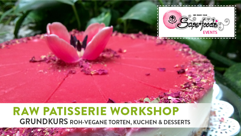 Raw Patisserie Ganztages Workshop