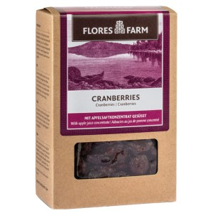 Flores Farm Cranberries 100g