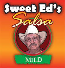 "Salsa Label with ""Sweet Ed"" on front"