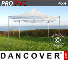 Pop up gazebo FleXtents PRO 4x4 m Clear