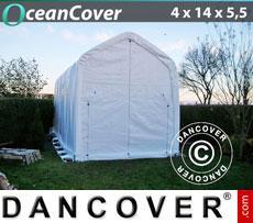 Boat shelter 4x14x4.5x5.5 m