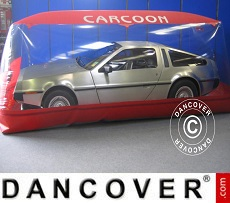Carcoon 5.05x2 m Clear/Red, Indoor