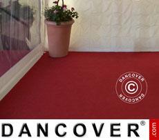 Tent Carpet 2x12m chilli red