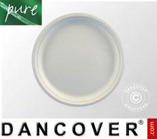 Disposable plates Ø26cm, 100 pcs. White