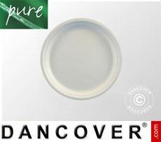 Disposable plates Ø23cm, 100 pcs. White