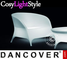 Event furniture: LED Armchair, Jazz, 78x91x67 cm