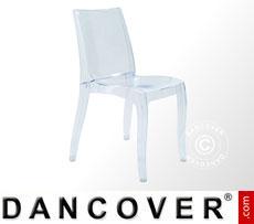 Chair, Cristal Light, Clear, 6 pcs.