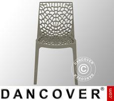 Chair, Gruvyer, Pearl Grey, 6 pcs.
