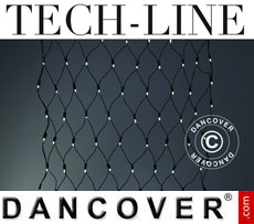 LED Net Fairy lights Tech-Line, 1.7x1.4 m, Warm white