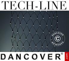 LED Net Fairy lights Tech-Line, 1.2x1.2 m, Warm white