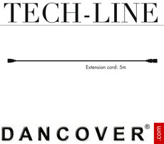 Extension Cord without plug Tech-Line, 5 m
