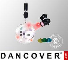 Disco ball incl. spotlight
