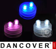 LED Floralytes (30pcs) DIA3 cm, Mixed colours