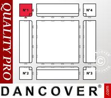 Flooring Corner piece no. 1, Grey