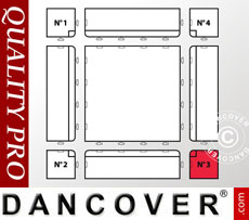Flooring Corner piece no. 3, Anthracite
