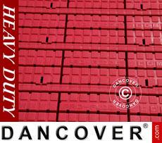 Flooring, Heavy duty, red 40 m²