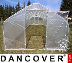 Polytunnel Greenhouse SEMI PRO 3x3.75x2.15 m