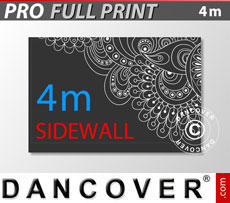 Printed sidewall 4 m for FleXtents PRO