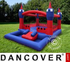 Bouncy Castle 3.6x2.7x2.1 m Blue/Red