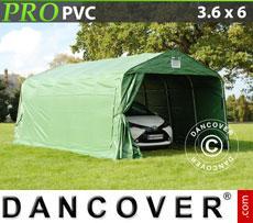 Portable Garage PRO 3.6x6x2.7 m PVC Green