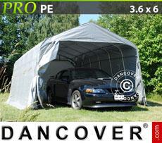 Portable Garage PRO 3.6x6.0x2.7 m, grey