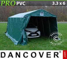 Portable Garage PRO 3.3x6x2.4 m PVC green