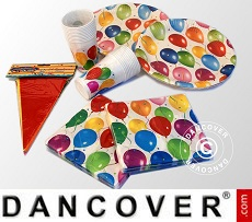 Theme Party Supplies - Party Box Balloons, 20 pers