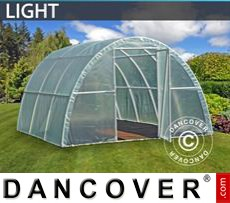Polytunnel Greenhouse Light 3x3,6x1,9 m, Transparent