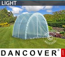 Polytunnel Greenhouse Light 2,2x2x1,9 m, Transparent