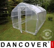 Polytunnel Greenhouse SEMI PRO Plus 2x7.5x2 m