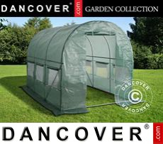 Polytunnel Greenhouse 2x3x2 m, Green