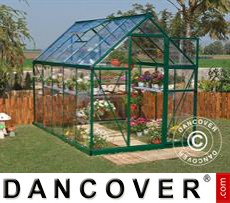 Greenhouse polycarbonate Harmony 5.6m², 1.85x3.06x2.08 m Green