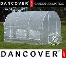 Polytunnel Greenhouse 2x3x2 m, Transparent