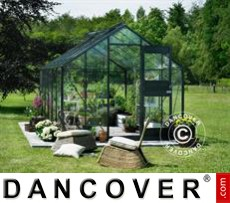 Greenhouse Glass Juliana Junior 2.77x4.41x2.57 m, Anthracite