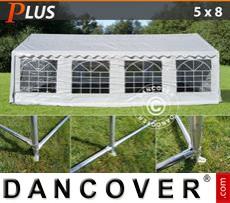 Marquee PLUS 5x8 m PE, White + Ground bar