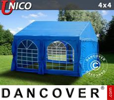 Marquee UNICO 4x4 m, Blue