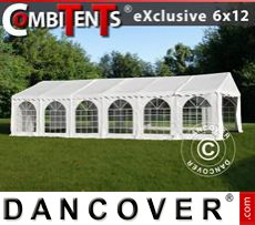 Marquee, Exclusive CombiTents® 6x12m 4-in-1, White