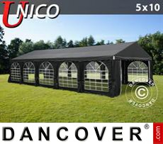 Marquee UNICO 5x10 m, Black