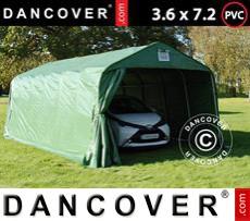 Portable Garage PRO 3.6x7.2x2.7 mPVC, Green