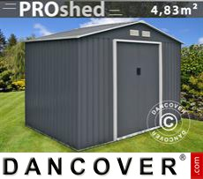 Garden Shed 2,77x1,91x2,02m ProShed, Anthracite