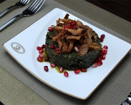SPINACH WITH OIL