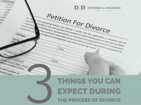 Three Things You Can Expect During The Process Of Divorce