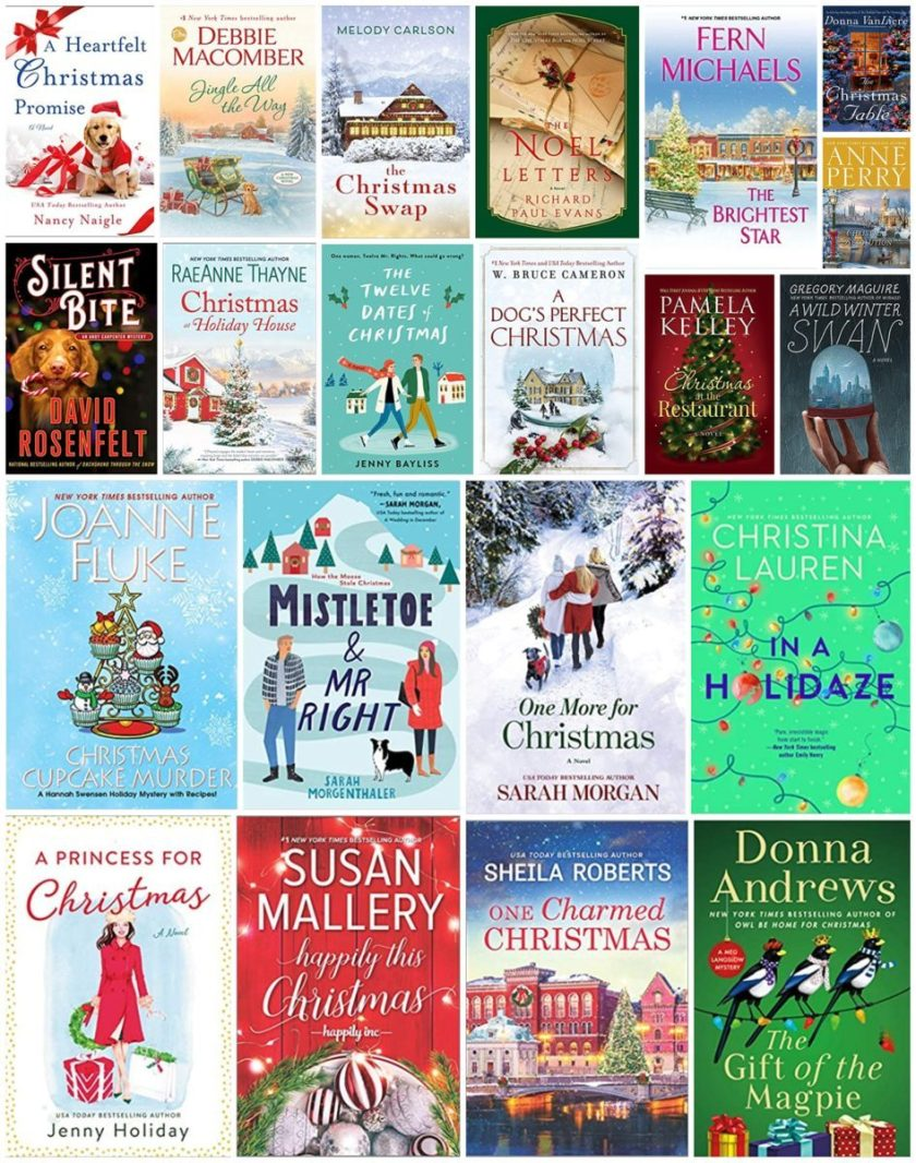 Best Christmas Romance Mystery Books 2020 The Best New Christmas Fiction this 2020 Holiday Season
