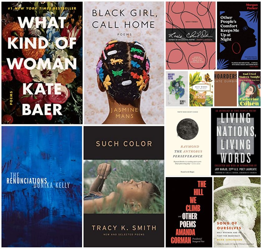 The best new poetry collections and non-fiction books about the impact of poetry perfect to read for National Poetry Month 2021.