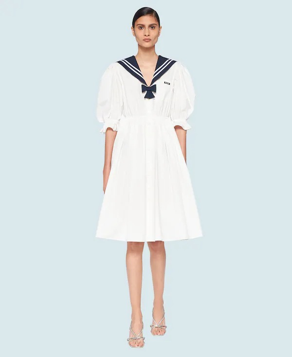 the best nautical fashion for women this summer 2021, including striped tops, sweaters, accessories