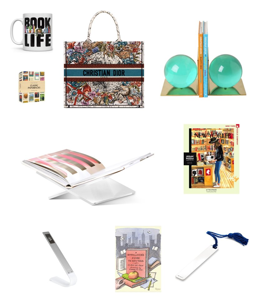 Christmas Holiday gift guide with the best gifts for book lovers in 2021