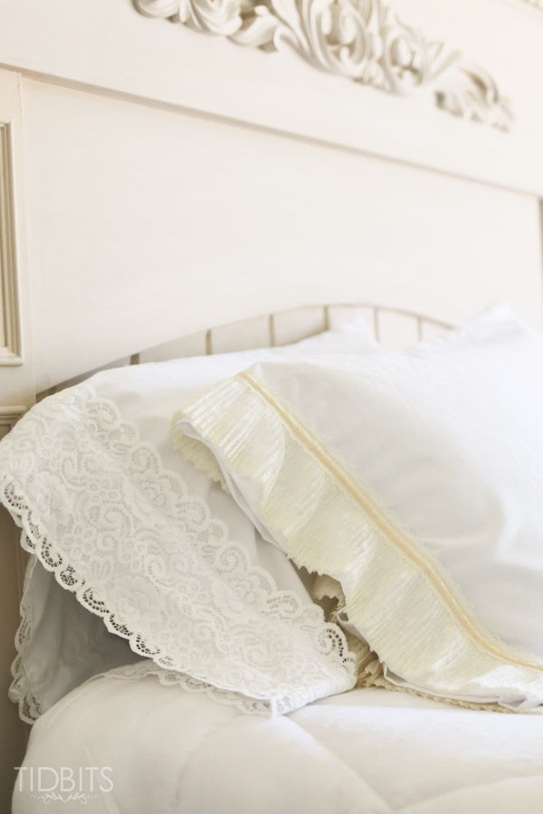 DIY Lace Pillowcases featured on Ella Claire [Weekly Round-Up at High-Heeled Love]