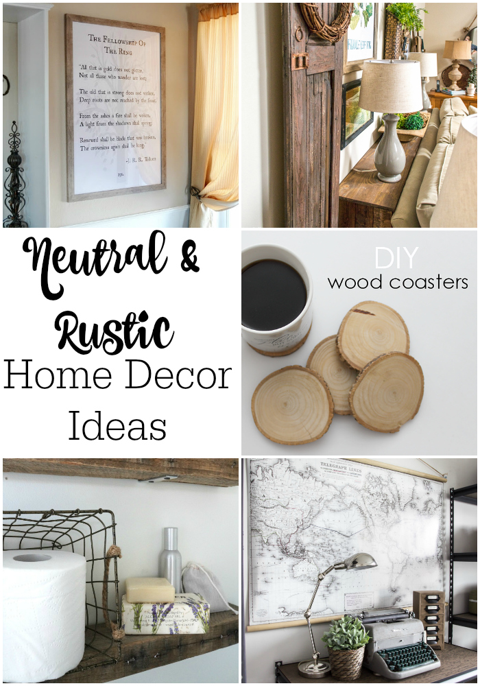 Diy rustic home decor blog for Home decor blogs
