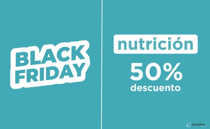 Descuento en nutricionista durante el black friday en Dandelion Salud Alicante